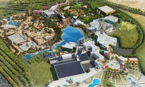 So soll der Paramount Park später einmal aussehen - Anklicken zum Vergrößern!