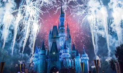Keine Überraschung: Die Disneyparks sind weiterhin das Maß aller Dinge.