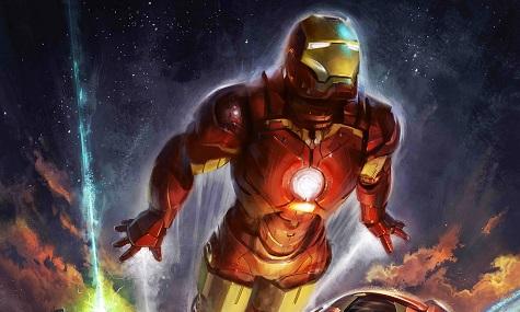 Im Jahr 2016 soll Iron Man - wie hier auf einem Artwork - erstmals in die Lüfte schweben.
