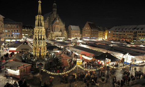 Der Christkindlesmarkt in Nürnberg: Einer der größten Weihnachtsmärkte Deutschlands und weltweit bekannt