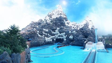 """Der Poseidon Klon mit dem passenden Namen """"Glacier Adventure"""""""