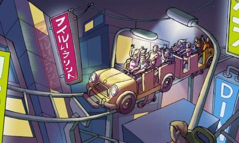 Tokyo's Night, ein Dueling Coaster.