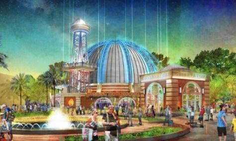 Das Artwork zum neuen Planet Hollywood