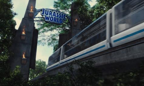 Das Tor zur Jurassic World ist inzwischen legendär - Anklicken zum Vergrößern!