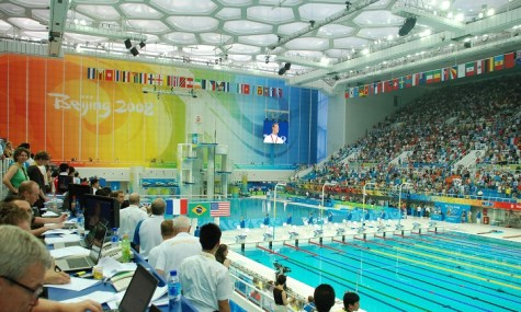 Das legendäre Schwimmbecken im Inneren - Anklicken zum Vergrößern!