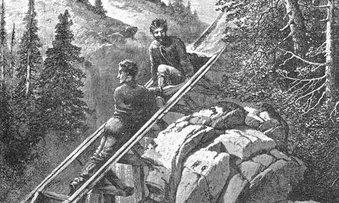 In solchen Booten traten Ramsdell und seine vier Begleiter die lebensgefährliche Fahrt an.