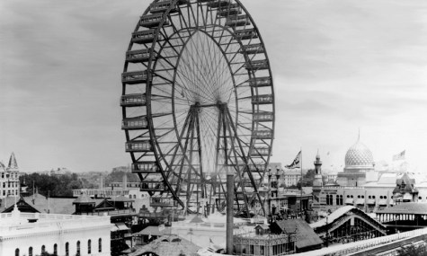 Das Ferris Wheel in Chicago (1893 - 1903) und St. Louis (1904 - 1906)