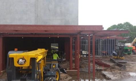 Das erste Bild des neuen Theaters - Anklicken zum Vergrößern!