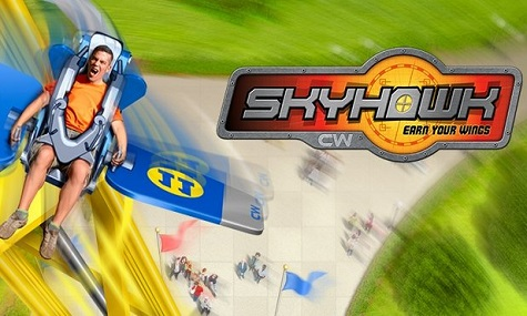 Das offizielle Artwork des neuen Sky Rollers