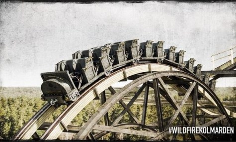 So soll der Zug von Wildfire später aussehen - Anklicken zum Vergrößern!