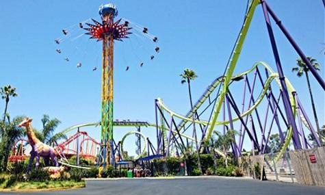 Six Flags Discovery Kingdom inkl. B&M Coaster Medusa