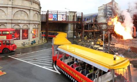 Die Studio Tram Tour in Paris