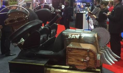 Das Front-Car des Timberliner Zuges