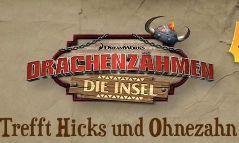 Ohnezahn und seine Freunde erwarten dich ab 2016 im Heide Park Resort
