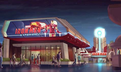 Das Artwork zur Stark Expo und der Iron Man Experience