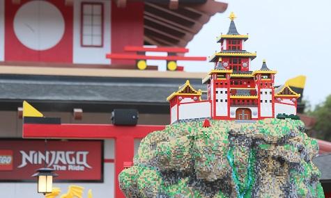 So oder so ähnlich wie hier im Legoland Kalifornien könnte auch der neue Themenbereich im Legoland Deutschland aussehen.