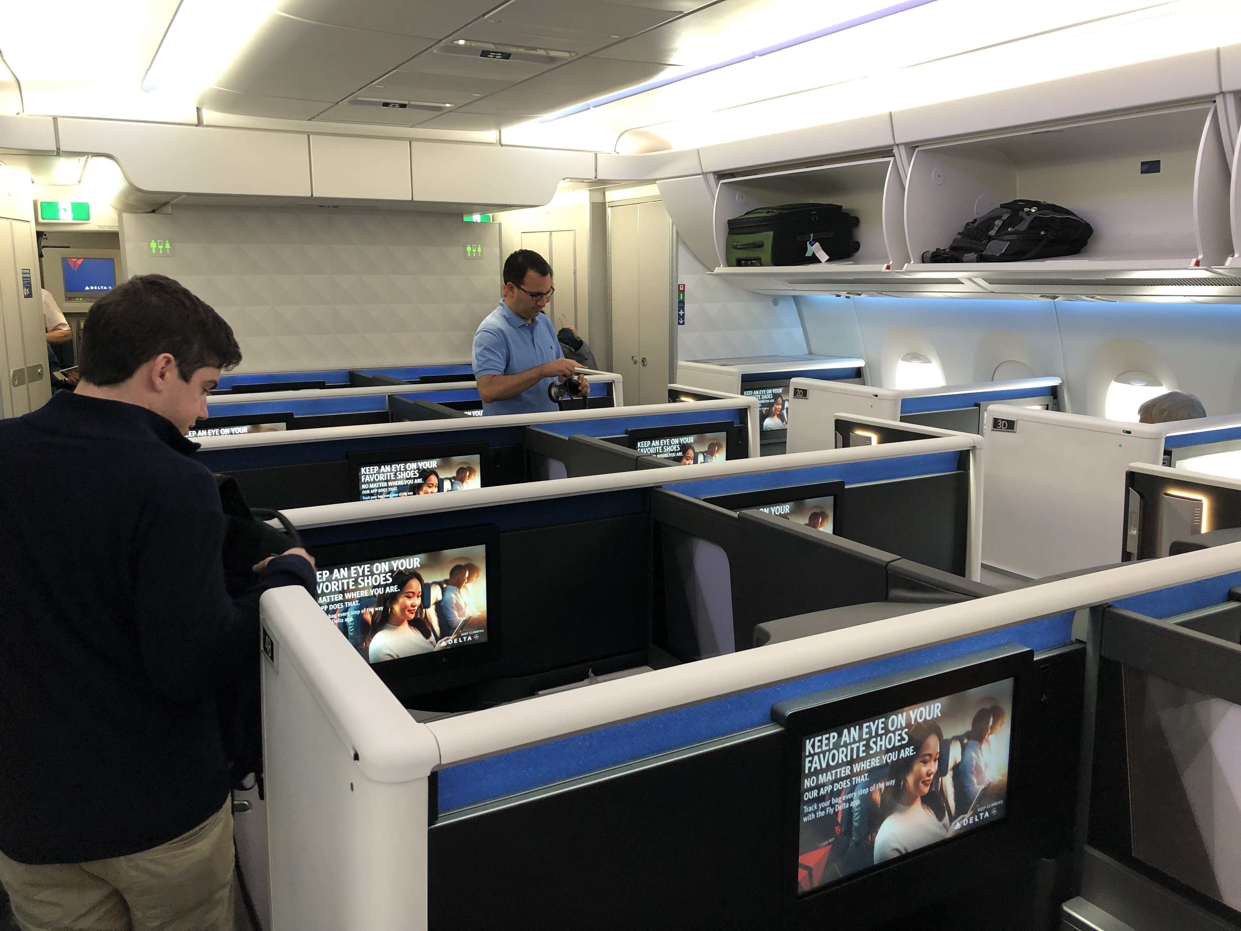 Review: Delta One Suites From Detroit to Seoul - Air Travel