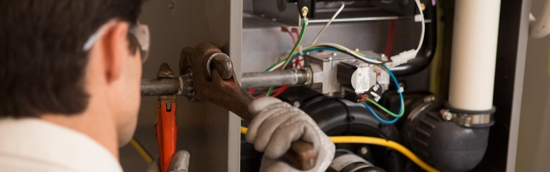 hight resolution of heating system wiring