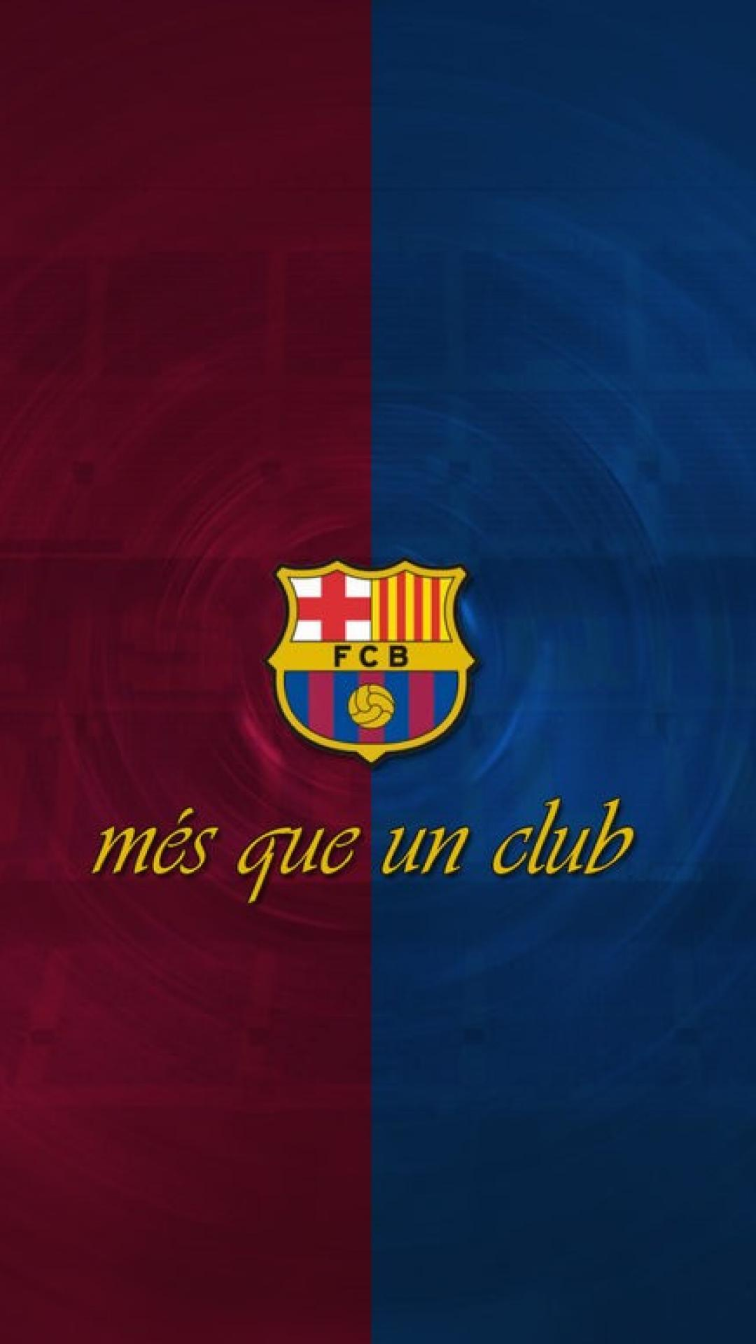 Phone Fall Wallpaper Barcelona Logo Iphone Wallpaper Airwallpaper Com