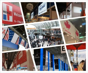 Attended Medica annual exhibition on latest medical devices and technology [Dusseldorf, 2012]