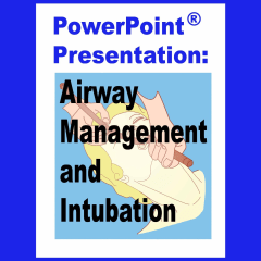 Cover for PowerPoint Presentation Airway Management and Intubation from Mooncat Publications