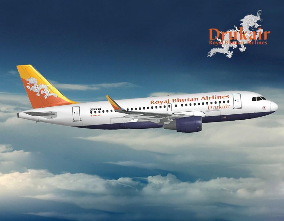 Druk Air Dhaka to Bhutan Flight Schedules