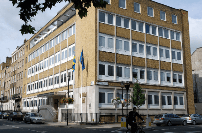 SWEDISH EMBASSIES AND CONSULATES