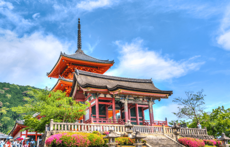 Top places in Japan, KYOTO