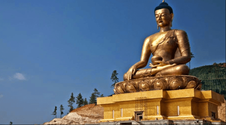 Top place in Bhutan ,Buddha Dordenma Statue, Thimphu