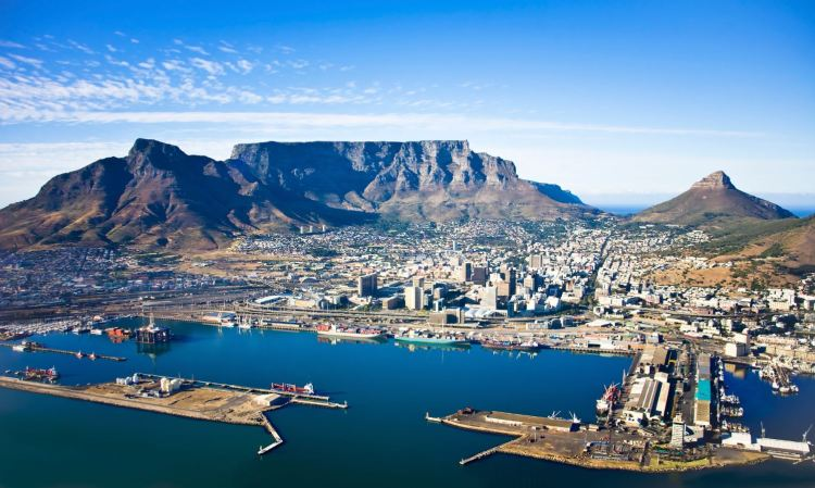 Top places in south africa, Table Mountain
