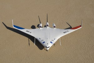 X-48B_from_above