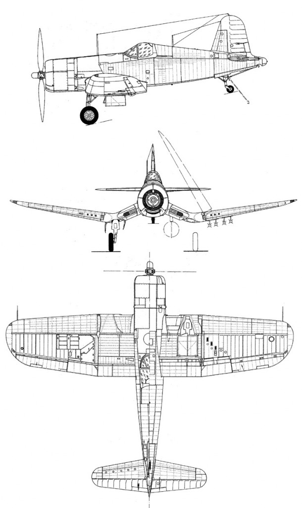 Vought F4U Corsair PDF eBook + Flight Manuals