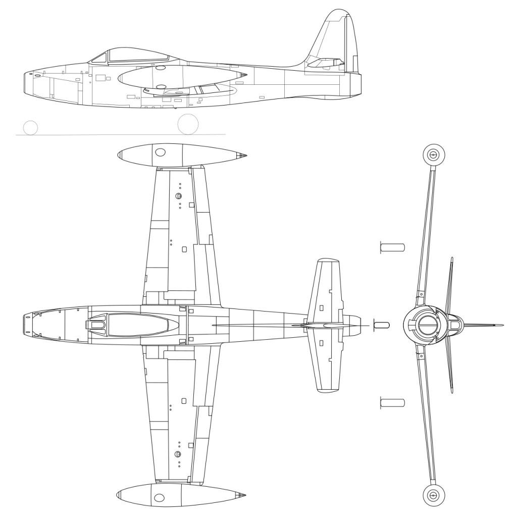 Republic F-84 Thunderjet PDF eBook & Flight Manuals
