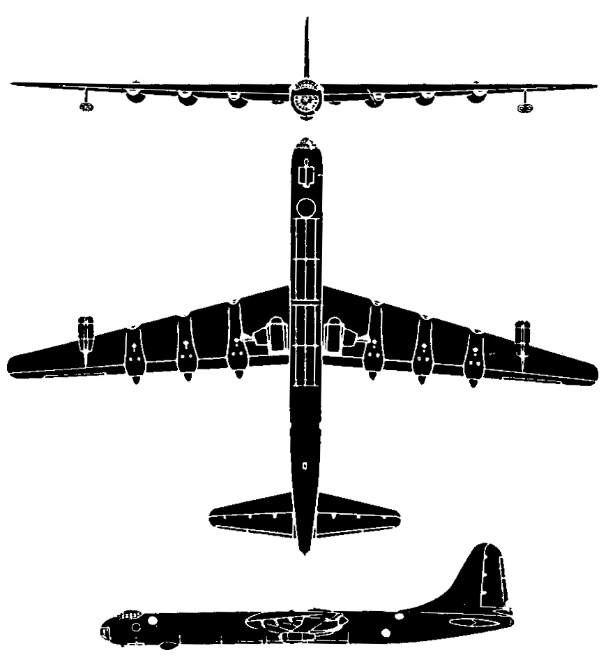 Convair B-36 Peacemaker PDF eBook & Flight Manuals