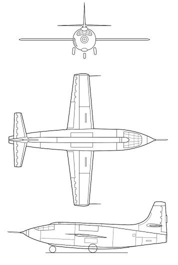 Bell X-1/X-1E/X-2, Douglas X-3, Northrop X-4, Bell X-5