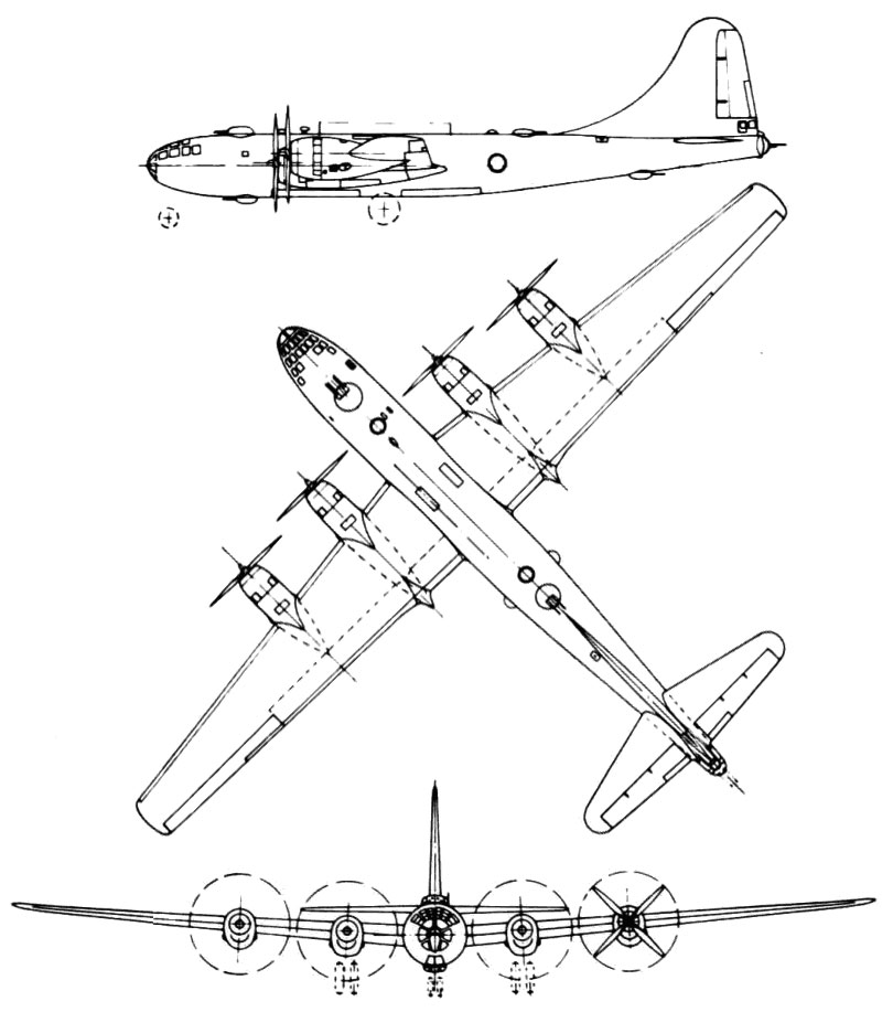 Boeing B-29 / B-50 Superfortress PDF Download