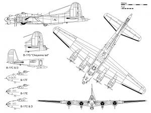 Boeing B-17 Flying Fortress PDF eBook & Flight Manuals