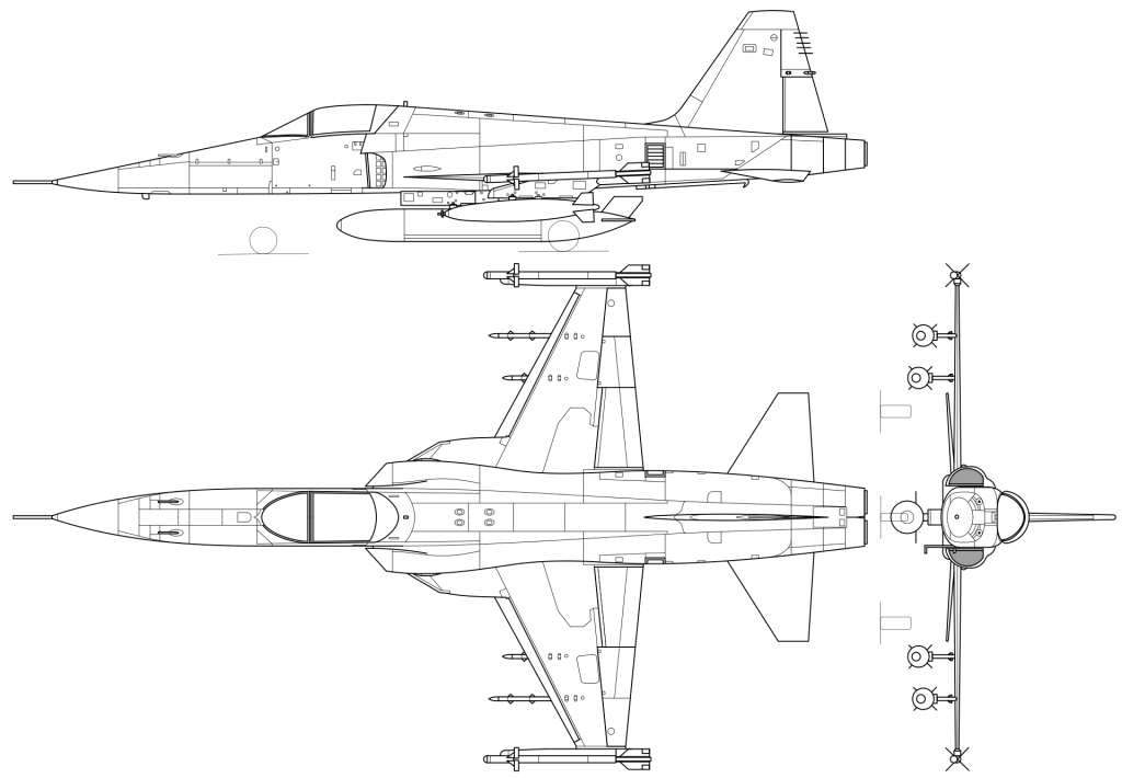 Northrop F-5 / F-20 / T-38 PDF eBook & Aircraft Flight