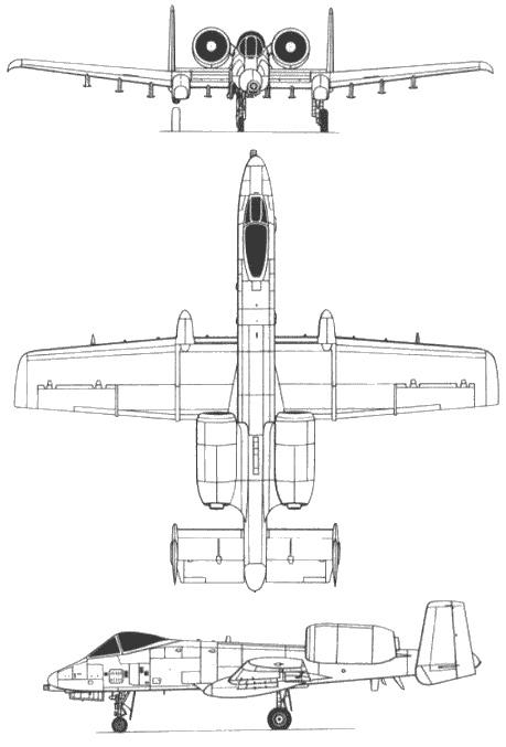 Fairchild-Republic A-10 Thunderbolt II PDF Download