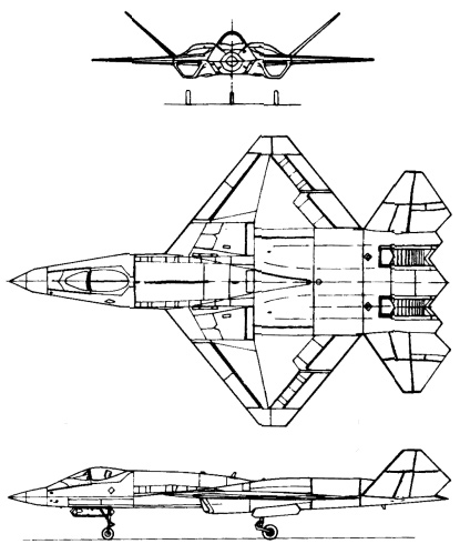Northrop YF-23 Black Widow II PDF eBook + Aircraft Flight