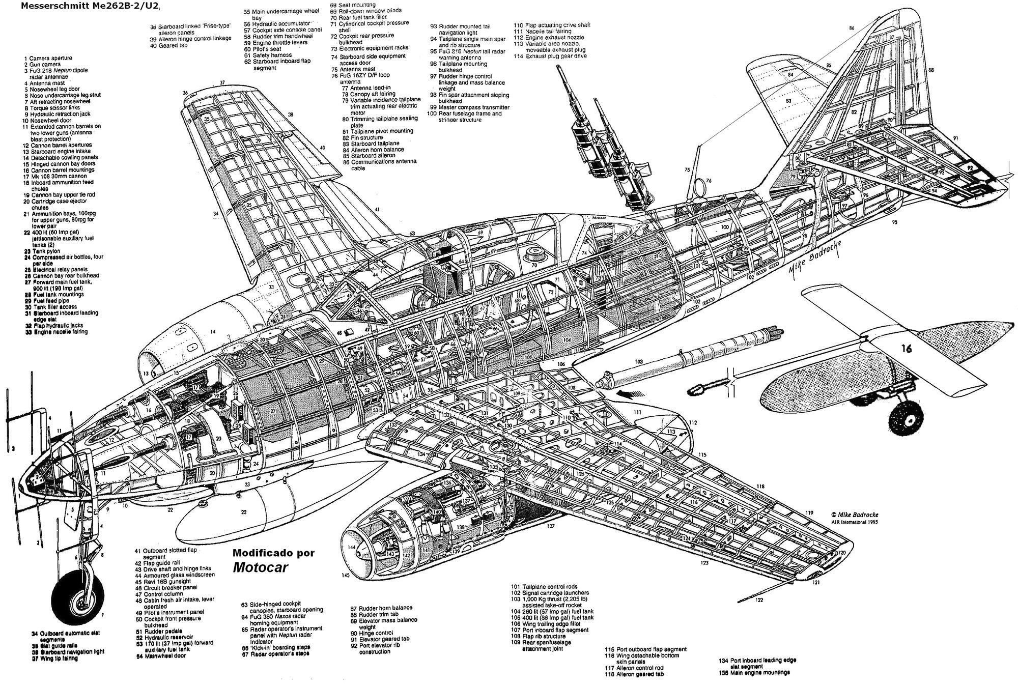 Messerschmitt Me-262 PDF eBook & Aircraft Flight Manual