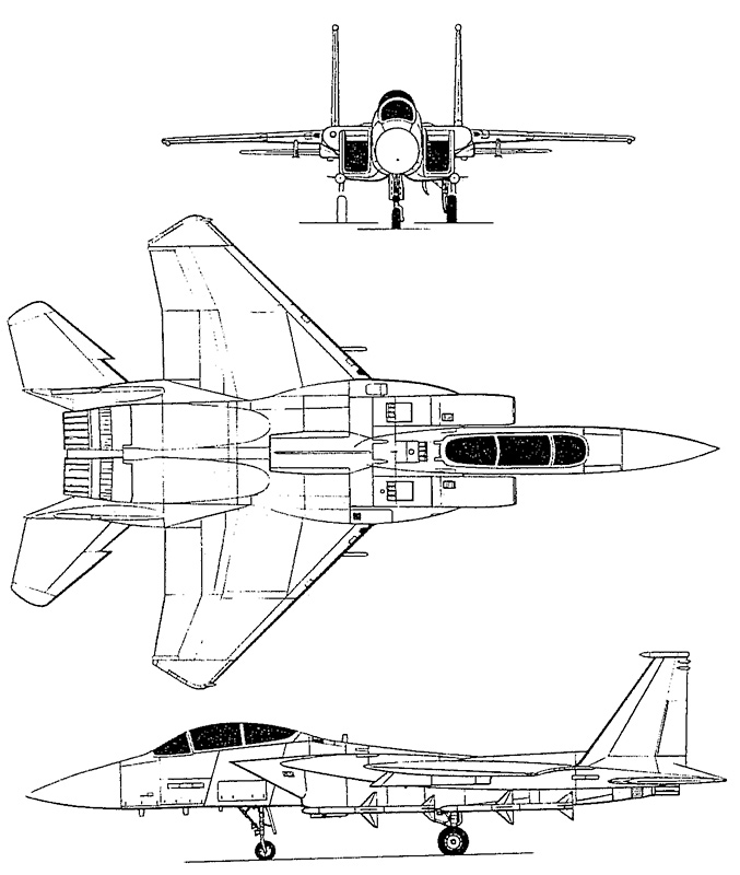 McDonnell-Douglas F-15 Eagle PDF eBook + Aircraft Flight