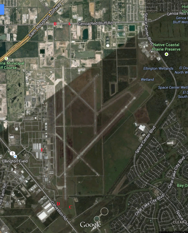 ELLINGTON FIELD tx