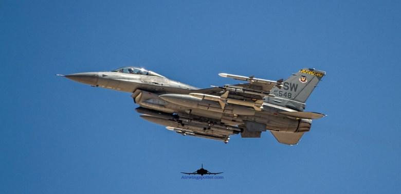 Shaw F-16C normal take off Runway 03L