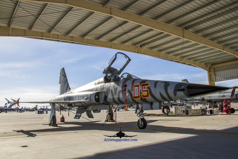 F-5n tiger camo 761544 front view