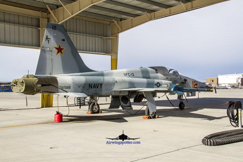 F-5n 761568 bord 12 rear side view