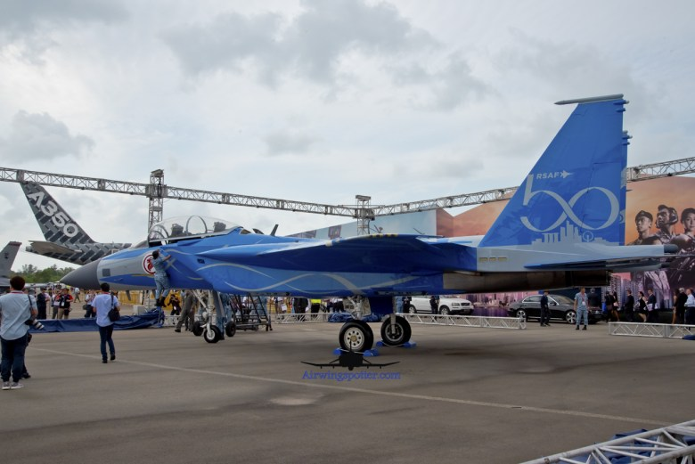 F-15SG tail code 8338