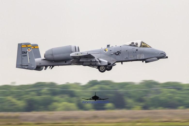 A-10C tac demo take off