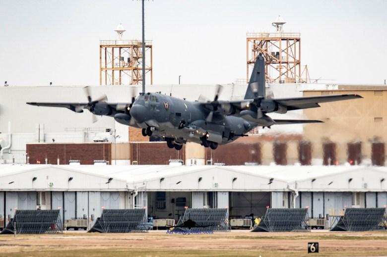 AC-130U Spear 47 take off