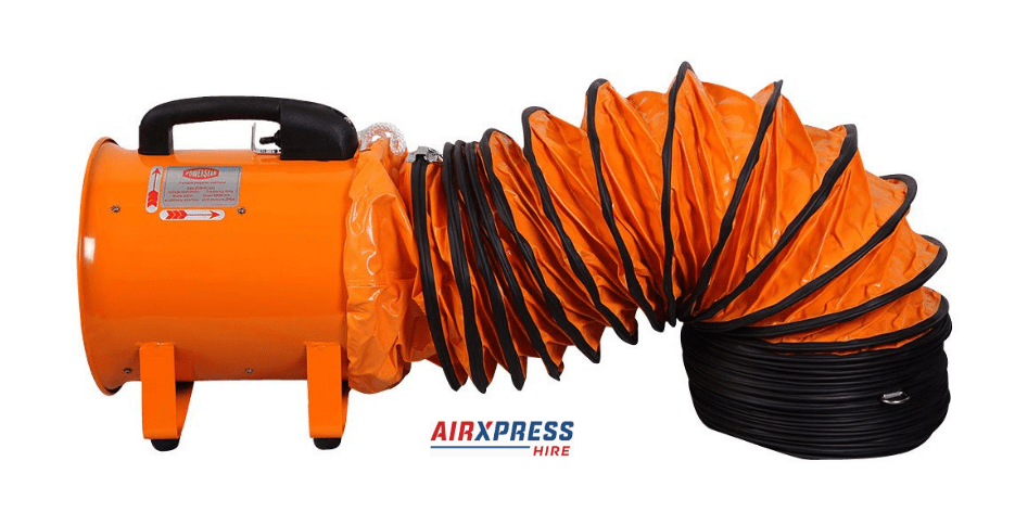 1000 l s extraction fan airxpress hire
